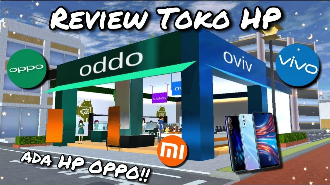 Download Review Toko HP Di Kota Sakura   Sakura School Simulator