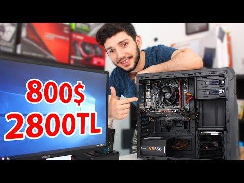 2800 TL Bütçe İle En İyi Toplama Oyun Bilgisayarı ve Oyun Performansı