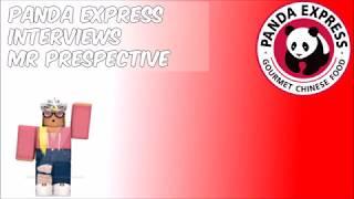 ROBLOX   Panda Express - Interviews!