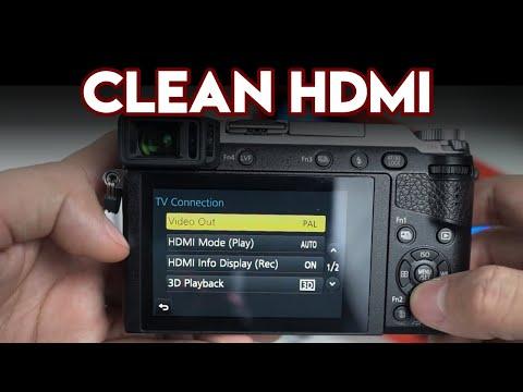 Cara Setting Clean HDMI Kamera Mirrorless Lumix GX85K - Apa Itu Clean HDMI Kamera?
