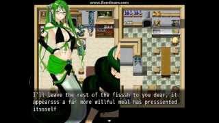 Green Lamia Vore