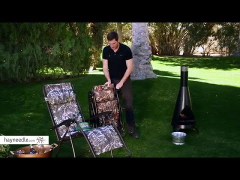 Coral Coast Camouflage Zero Gravity Chair - Product Review Video