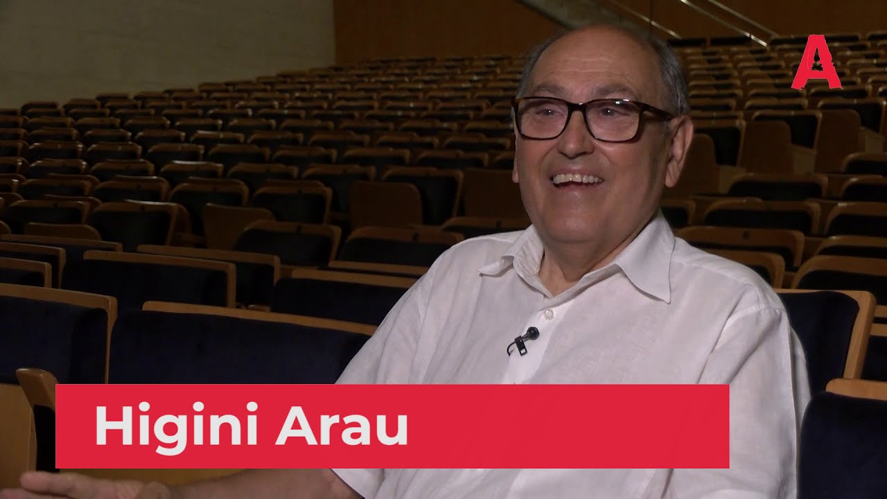 Higini Arau, Premi Acusti.cat a la Trajectoria professional