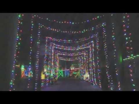 Christmas Lights at Texas Motor Speedway - Christmas Lights At Texas Motor Speedway - YouTube