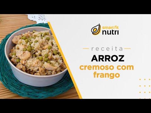 Receita de arroz cremoso com frango | Smart Fit Nutri