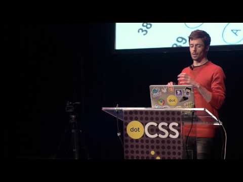 """DotCSS 2014 - Nicolas Gallagher - Thinking Beyond """"Scalable CSS"""""""