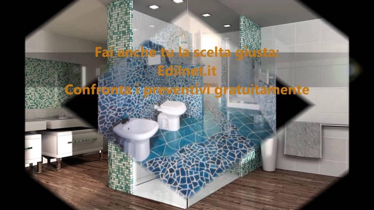 Bagno in muratura  EDILNETIT  YouTube