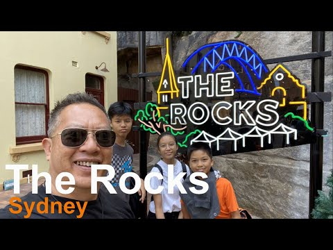 Historic walkways,  old pubs,  museums,  markets, magnificent views of Sydney - The Rocks - Sydney