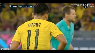 GOL CANTIK SAFAWI RASID | Malaysia vs Vietnam 2 2  Final Leg 1 ( Aff Suzuki Cup 2018 )