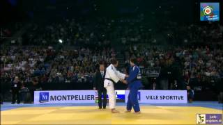 Judo 2014 European Championships Montpellier: Polling (NED) - Vargas Koch (GER) [-70kg] final