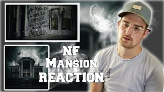 THIS WHOLE SONG IS A METAPHOR - NF - Mansion [REACTION]