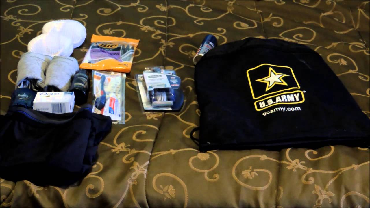 bct packing list fort jackson youtube