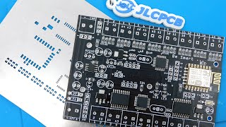 How to solder SMD component with stencil