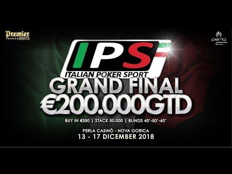 Italian Poker Sport GRAND FINAL - Final Table Nova Gorica, Perla Casino