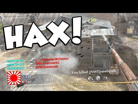 UNLIMITED NOOBTUBE HACKS! (Call of Duty: World at War Modded Lobby)