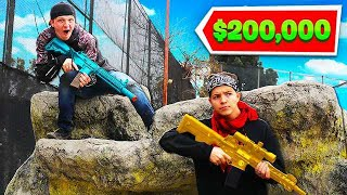 WINNING $200,000 REAL LIFE BATTLE ROYALE! (MRBEAST)