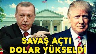 ABD Başkanı Trump Türkiyeye Savaş Açtı - Dolar Fırladı!