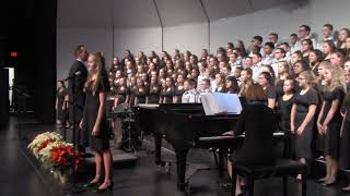 Grown Up Christmas List performed by the 2018 Richards Middle School Choir