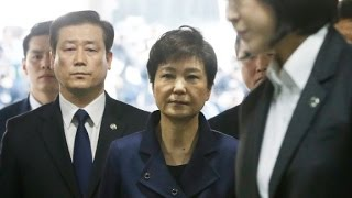 Ousted S  Korea president arrested in corruption probe