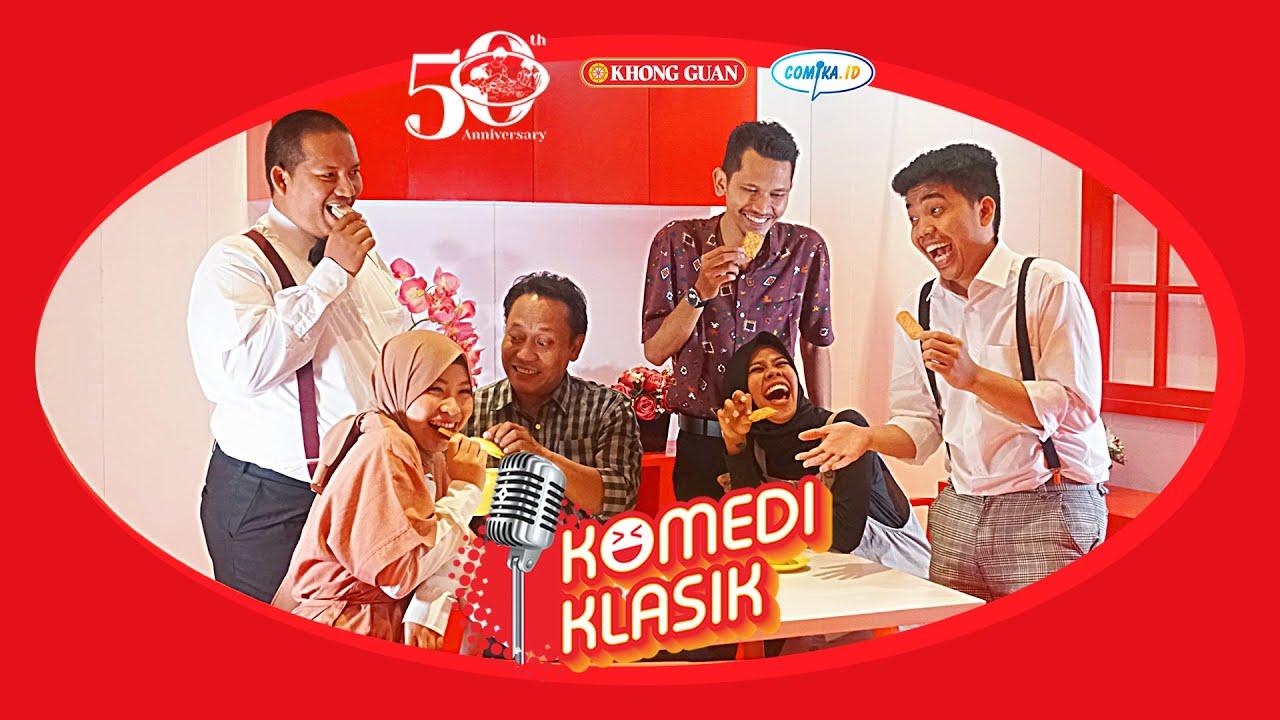 [Komedi Klasik] Kenangan Mega, Boah, Popon, Arif Brata, Sadana, dan Arief Didu bersama Khong Guan.