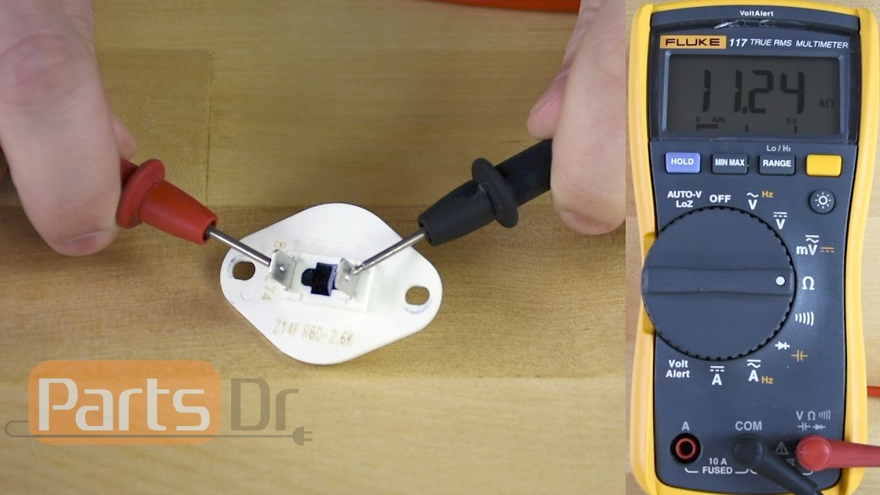 hight resolution of how to test whirlpool thermistor part wp8577274 youtubehow to test whirlpool thermistor part wp8577274