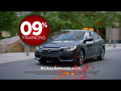 Happy Honda Days Sales Event at Richards Honda in Baton Rouge
