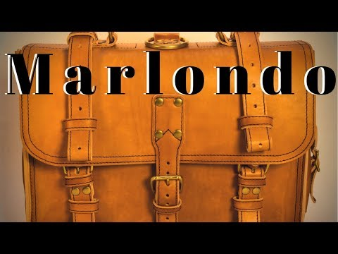 Marlondo Veg. Tanned Briefcase Review