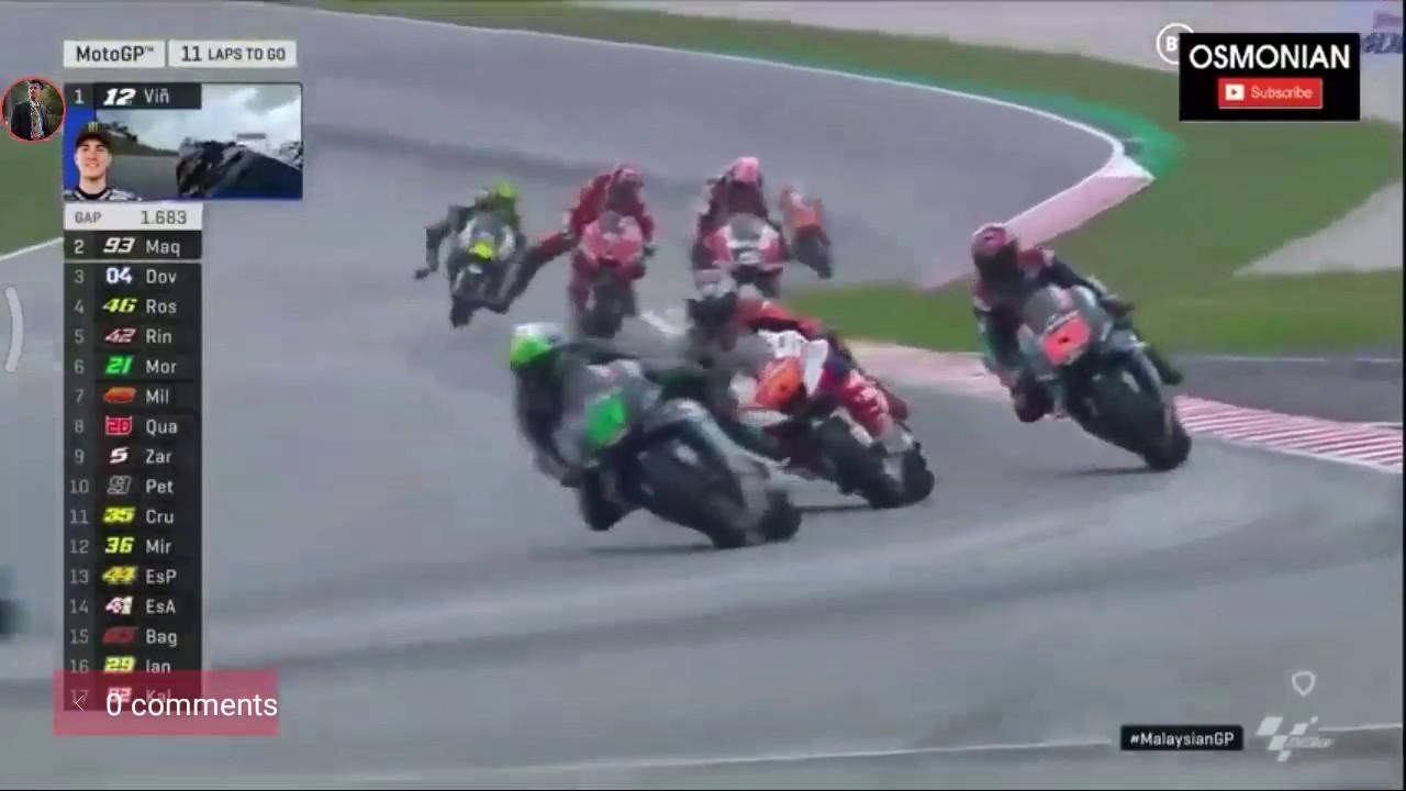 Highlight Race Moto GP Sepang Malaysia 2019