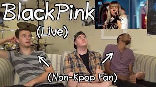 "BlackPink - Whistle(Live) Reaction (Non-Kpop Fan) ""Bryson Likes Lisa"""