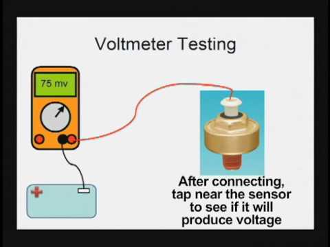 Knock Sensor Testing Toyota Lexus Tech Tip Youtube