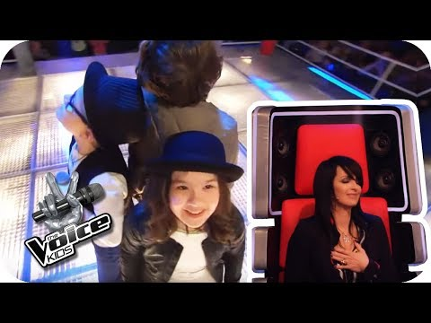 Nena - 99 Luftballons (Nils, Pia, Michael) | The Voice Kids 2017 (Germany)  | Battles | SAT.1