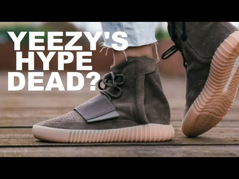 099026aaa HAD ADIDAS YEEZY SHOES HYPE DIED  IS THE 750 STILL DOPE OR NOPE ...