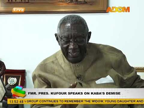 Fmr. Pres. Kuffour Speaks on KABA's Demise on Adom TV (20-11-17)