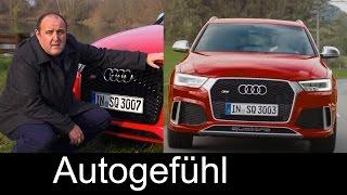 Audi RS Q3 & Audi Q3 Facelift test driven FULL Review 2016 - Autogefühl