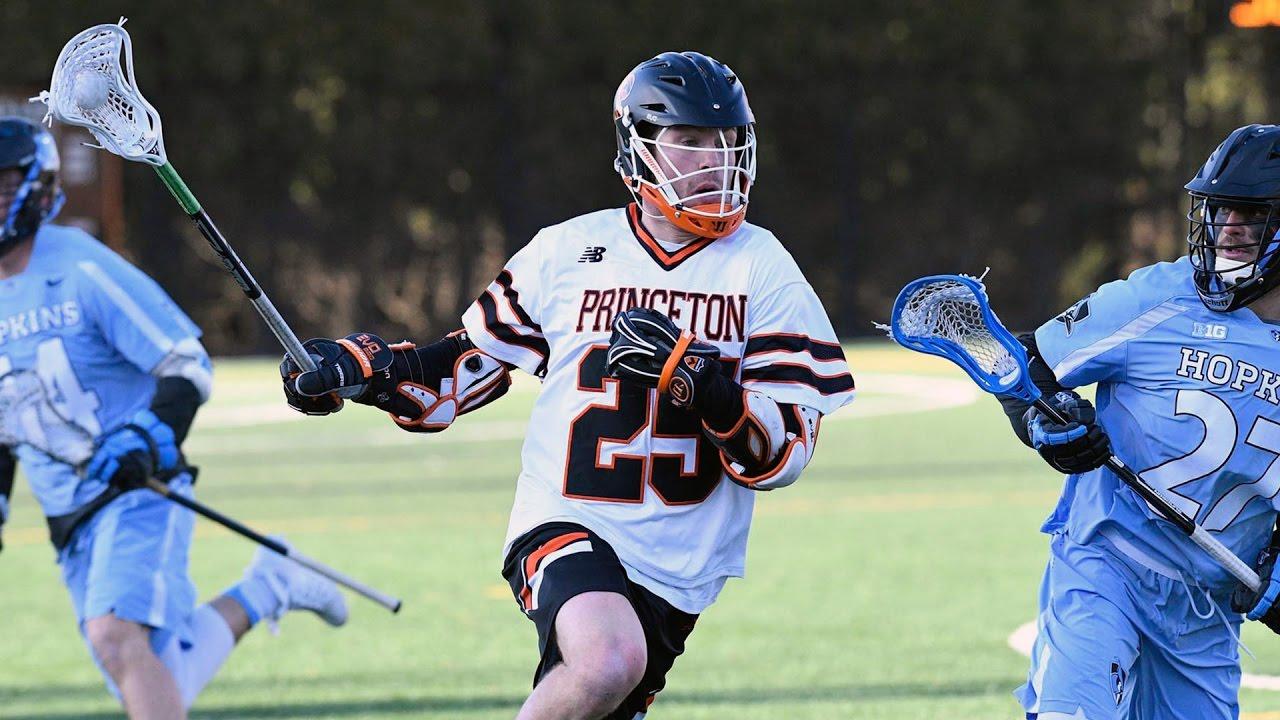 Men's Lacrosse Highlights: Princeton vs. Johns Hopkins - 3 ...