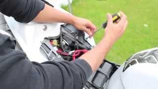2011 Yamaha R1 Akrapovic exhaust installation