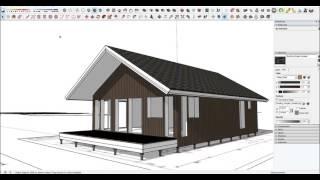 Проектируем Аврору. Часть I: предпроектная разработка эскиза будущего каркасного дома(Задача: создать рабочий проект каркасного дома