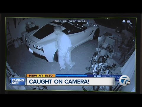 Woman uses Facebook to track down home intruder in Allen Park