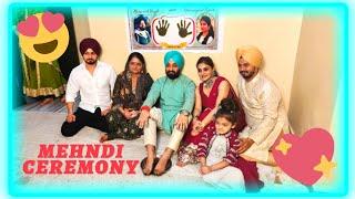 Mehndi Ceremony In Sikh Wedding 😍   Punjabi Wedding   Punjabi Culture   SJ FASHION WORLD screenshot 2