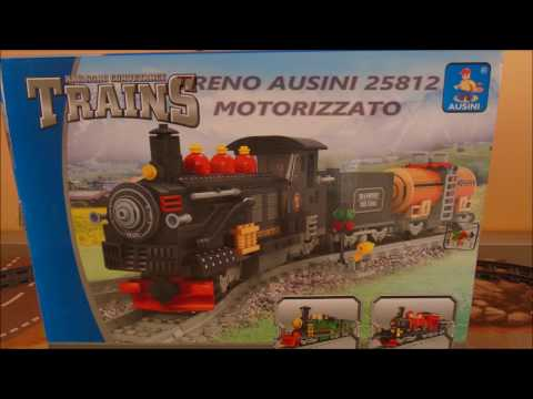 TRENO AUSINI NO MOTORIZZATO CON LEGO POWER FUNCTION