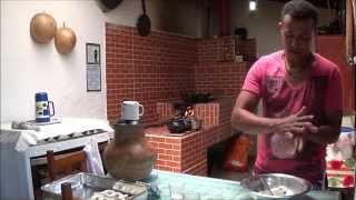 Biscoito De Queijo Com Creme De Leite Youtube