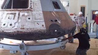 Behind the Scenes-Apollo Command Module Moves to GLSC.wmv