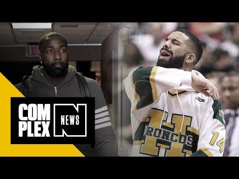Drake & Kendrick Perkins Traded Verbal Jabs at Cavs-Raptors Game