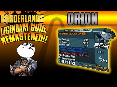 Borderlands: *Orion* Remastered Legendary Weapon Guide!