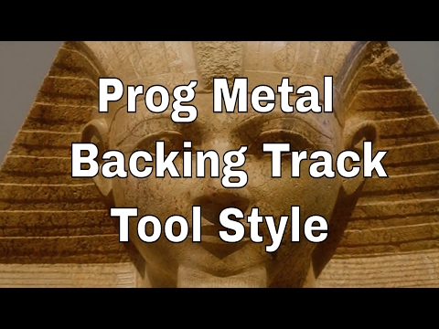 Prog Metal Backing Track, Tool Style, E Phrygian Major/dominant Scale