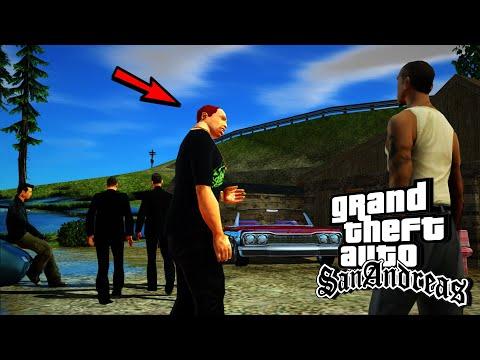 GTA San Andreas แข่งรถกับ Wuzie และ Claude(ตัวเอกในgta3)