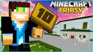 Minecraft Cribsy #02 - MAMY DOM NA 10! | VERTEZ NA BRODACI.NET