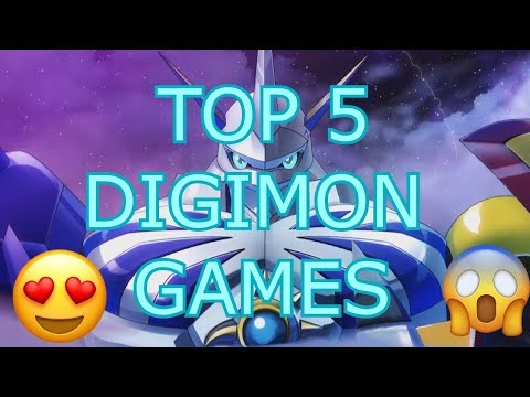 Digimon: The Top 5 Greatest Games