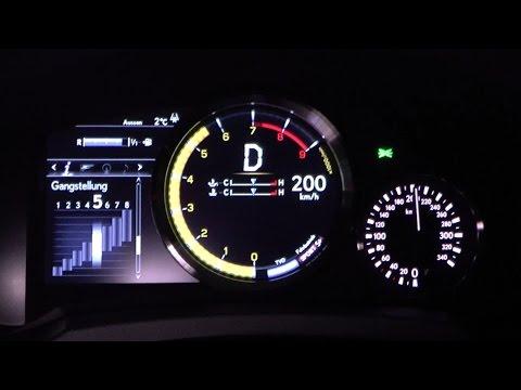 2016 Lexus RC F Coupé 477 HP 0-100 km/h, 0-100 mph & 0-200 km/h Acceleration