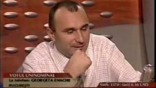 4.11.2003 - Despre votul uninominal